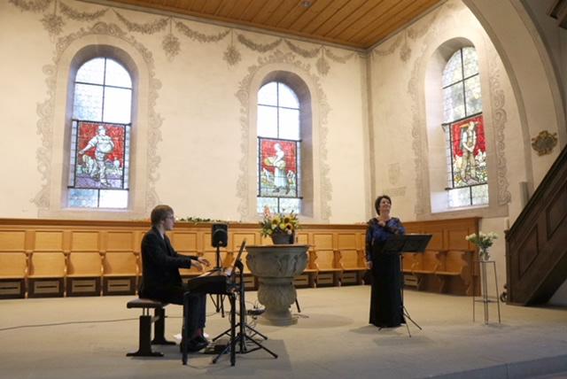 Manuela Garrido und Elie Jolliet - 2019 Kirche Wohlen