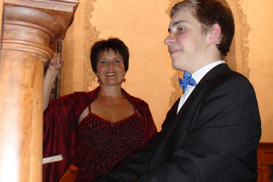 Manuela Garrido, Sopran + Elie Jolliet, Orgel Konzert Kirche Wohlen, 8. September 2013