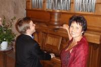 Elie Jolliet, Orgel + Manuela Garrido, Sopran, Konzert Kirche Wohlen, 8. September 2013