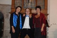 Anna-Lisa Kirchhofer, Elie Jolliet + Manuela Garrido, Konzert Kirche Wohlen, 8. September 2013