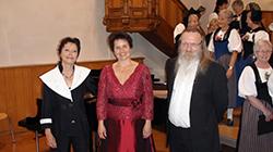 Anna-Lisa Kirchhofer Pianistin, Manuela Garrido Sopran + Stefan Däppen Klarinettist