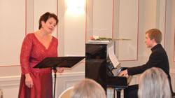 Manuela Garrido, Sopran und Elie Jolliet, Klavier
