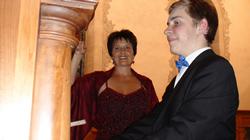 Manuela Garrido + Elie Jolliet, Konzert Kirche Wohlen, 2013