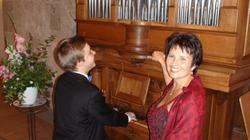 Manuela Garrido + Elie Jolliet, Konzert Kirche Wohlen